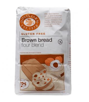 Αλεύρι για Μαύρο Ψωμί χωρίς γλουτένη Doves 1κιλό