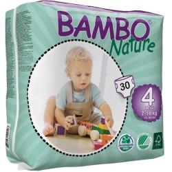 Πάνες Βρεφικές No4 Maxi 7-18kgr., Bambo Nature
