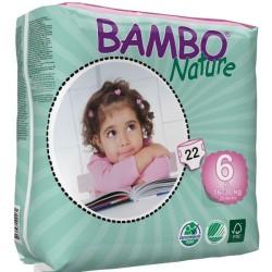 Πάνες Βρεφικές No6 XL 16-30kgr., Bambo Nature