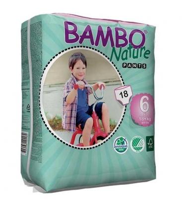 Πάνες Βρακάκι No6 XL 18kgr+ Bambo Nature