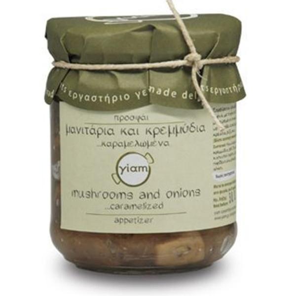 Μανιτάρια με Καραμελωμένα Κρεμμύδια 200γρ., Ελληνικά, Γιάμ