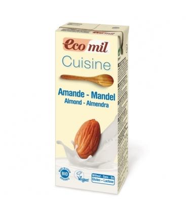 Κρέμα Μαγειρικής Αμυγδάλου 200ml Βιο Ecomil