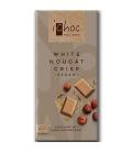 Βιολογική Σοκολάτα Ρυζιού Λευκή με Νougat Bio 80γρ., Vivani