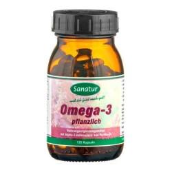 Ωμέγα -3 Φυτικό 120 κάψουλες Sanatur