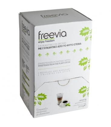 Στέβια σε Σκόνη 400 φακελάκια Freevia