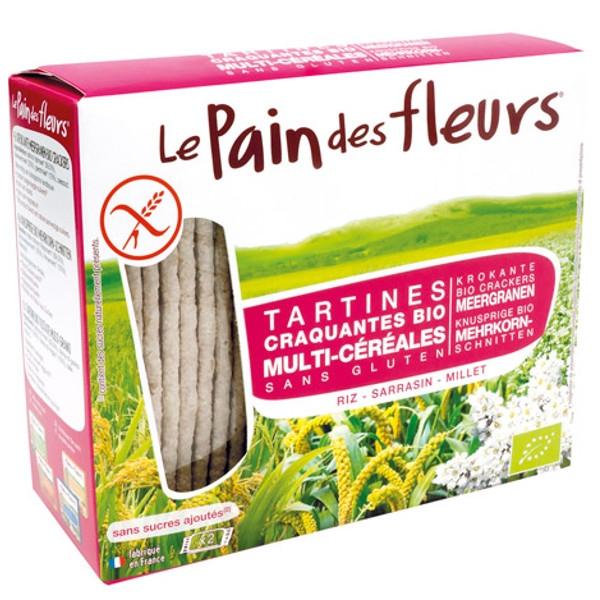Βιολογικά Κράκερς με 3 Σπόρους Bio 150γρ., Le Pain De Fleurs