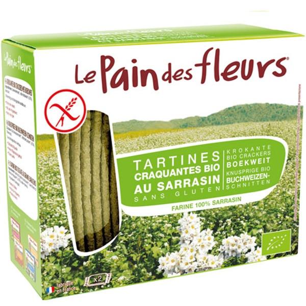 Βιολογικό Τραγανό Άζυμο Κρακεράκι Φαγόπυρου Χωρίς Γλουτένη Bio, Le Pain De Fleurs