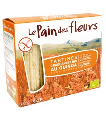 Τραγανό Κρακεράκι απο 100% Κινόα χωρίς γλουτένη Βιο LE PAIN DE FLEURS
