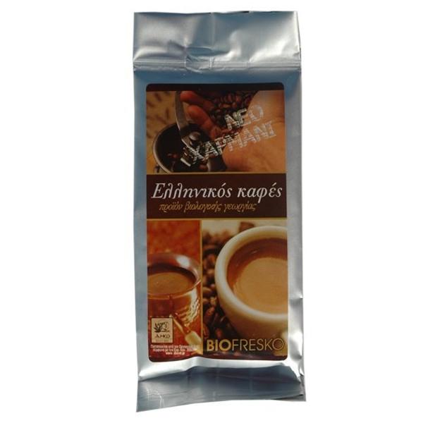 Ελληνικός Καφές Βιολογικής Γεωργίας 200γρ.