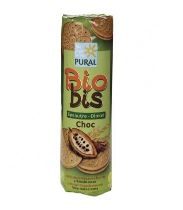Μπισκότα Γεμιστά με Σοκολάτα 300γρ Βιολογικά Pural