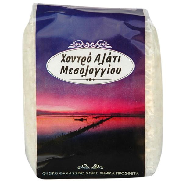 Αλάτι Μεσολογγίου Χονδρό 1 κιλό, Ελληνικό, Βιοφρέσκο