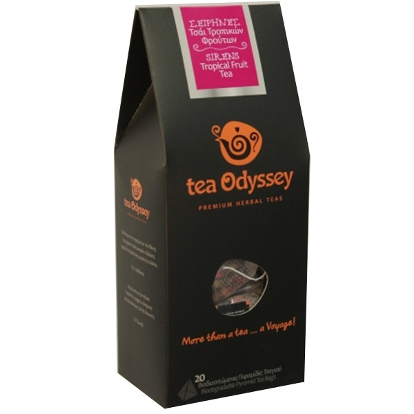 Σειρήνες Τσάι με Τροπικά Φρούτα 20 φακελάκια, Ελληνικές, Πήγασος Βιολογικές Υπερτροφές