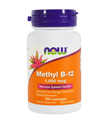 Methyl B-12 1,000 mcg Methylcobalamin - 100 Lozenges
