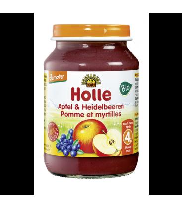 Μύρτιλο & Μήλο σε βαζάκι 190 gr Βιο Holle