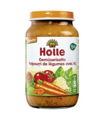 Ριζότο με Λαχανικά Βιολογικό 220γρ Holle