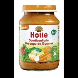 Βιολογικά Ανάμεικτα Λαχανικά σε Βαζάκι 190γρ. Bio, Holle