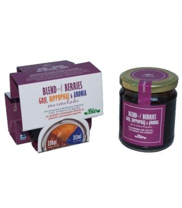 Μαρμελάδα Blend of Berries 220γρ Βιολογική Πήγασος
