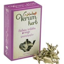 Βιολογικό Φασκόμηλο Βιολογικής Καλλιέργειας 20γρ., Ελληνικό, Verum Herb