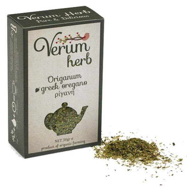 Βιολογική Ρίγανη Βιολογικής Καλλιέργειας 20γρ., Ελληνική, Verum Herb
