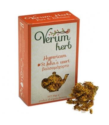 Βαλσαμόχορτο ή Υπερικό Βιολογικής Καλλιέργειας 20γρ Verum Herb