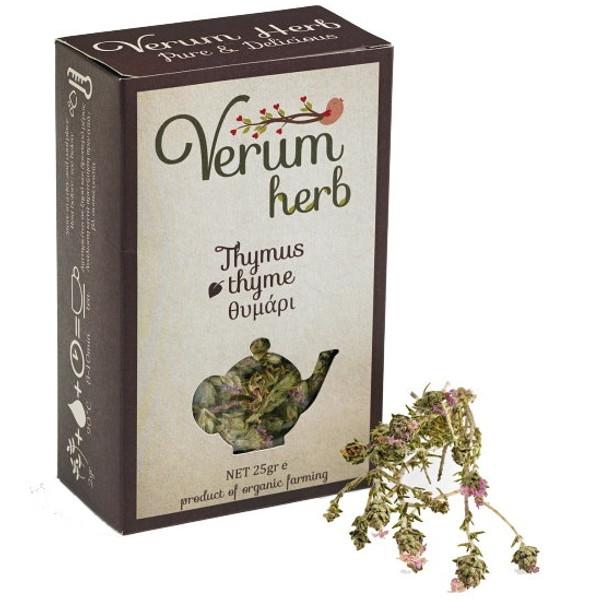 Βιολογικό Θυμάρι Ανθός Βιολογικής Καλλιέργειας 20γρ., Ελληνικό, Verum Herb
