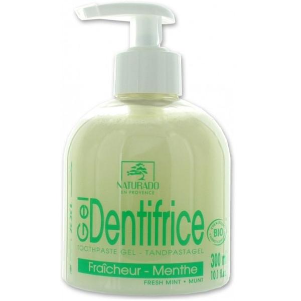 Βιολογική Οδοντόκρεμα Fresh Mint με Δυόσμο & Ξυλιτόλη Bio 300ml, Naturado