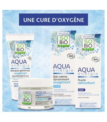 Κρέμα Ημέρας για Κανονική/Μεικτή Επιδερμίδα Aqua Energie 50ml So Bio