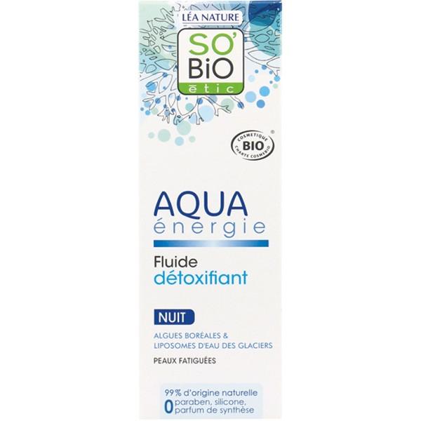 Βιολογική Κρέμα Νυχτός Aqua Energie 50ml, So Bio