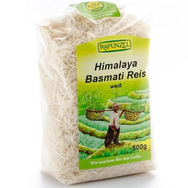 Βιολογικό Ρύζι Μπασμάτι Λευκό Bio 500γρ., Rapunzel