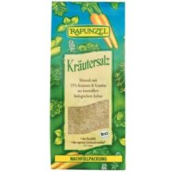 Αλάτι με Bio Βότανα και Φύκια 500γρ., Rapunzel