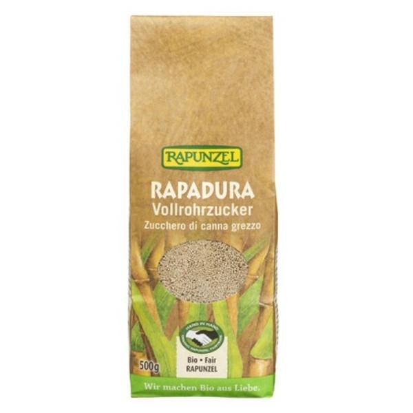 Βιολογική Ζάχαρη Aκατέργαστη Raradura Bio 500γρ., Rapunzel