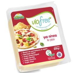 Φυτικό Τυρί για Πίτσα Viofree 200γρ., Ελληνικό, Viotros