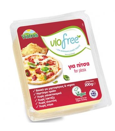 Φυτικό Τυρί Για Πίτσα 200gr Viofree