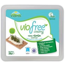 Φυτικό Τυρί Κρέμα με Γεύση Τζατζίκι Creamy Viofree 200γρ., Ελληνικό, Viotros