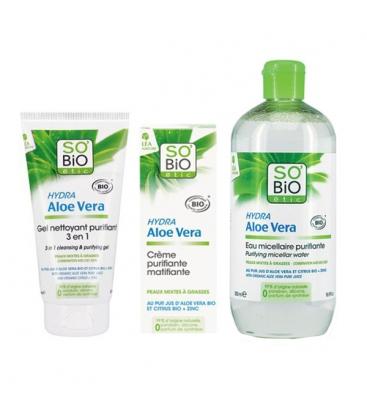 Gel Καθαρισμού Προσώπου 3 σε 1 για την Λιπαρή επιδερμίδα 150ml So Bio