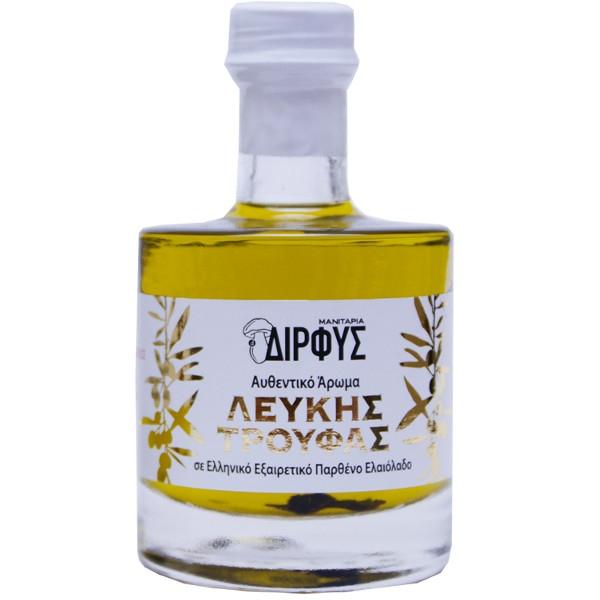 Ελαιόλαδο με Άρωμα Λευκής Τρούφας 100ml, Ελληνικό, Δίρφυς
