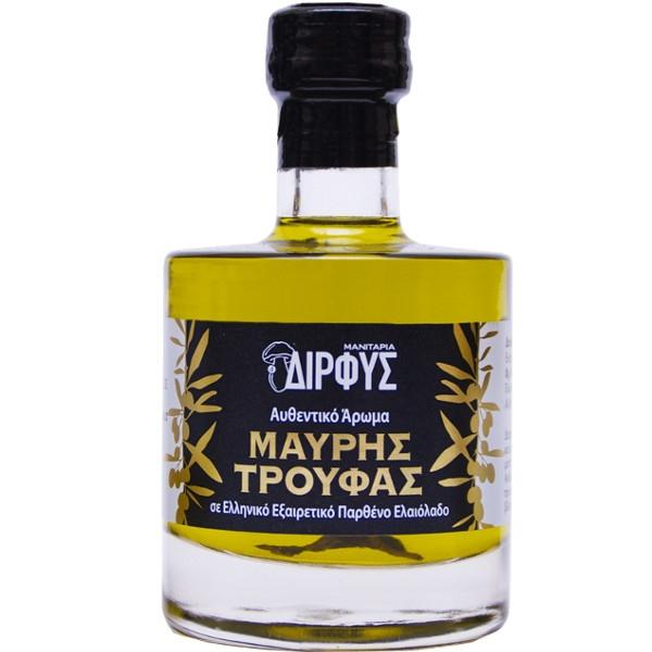 Ελαιόλαδο με Άρωμα Μαύρης Τρούφας 100ml, Ελληνικό, Δίρφυς