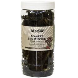 Μαύρες Τρομπέτες Αποξηραμένες 80γρ., Ελληνικές, Δίρφυς