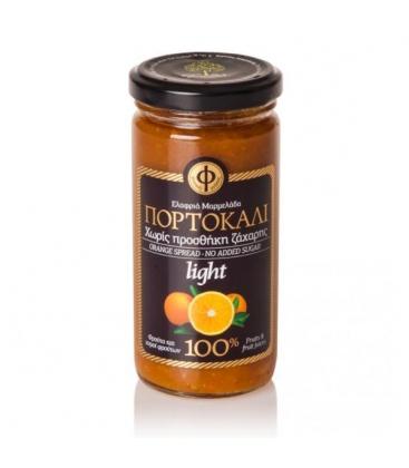 Ελαφριά Μαρμελάδα Πορτοκάλι - 100% φρούτο - Χωρίς Ζάχαρη 270γρ ΓΕΩΔΗ
