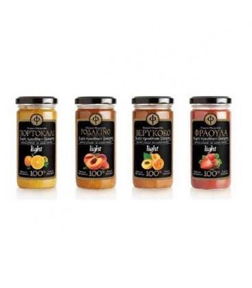 Ελαφριά Μαρμελάδα Κεράσι Βύσσινο - 100% φρούτο - Χωρίς Ζάχαρη 270γρ ΓΕΩΔΗ