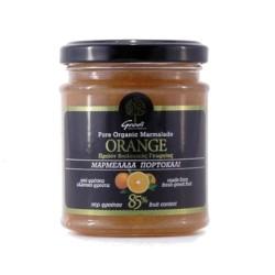 Βιολογική Μαρμελάδα 85% Πορτοκάλι 225γρ., Ελληνική, Γεωδή