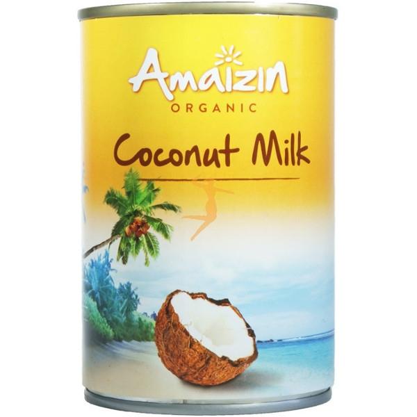 Βιολογικό Γάλα Καρύδας 400ml Bio, Amaizin
