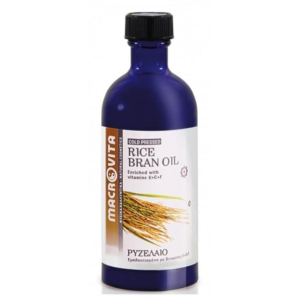Ρυζέλαιο 100ml, Ελληνικό, Macrovita