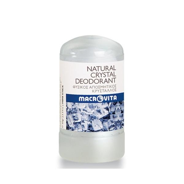 Φυσικός Αποσμητικός Κρύσταλλος Μίνι Στικ 60ml, Ελληνικός, Macrovita