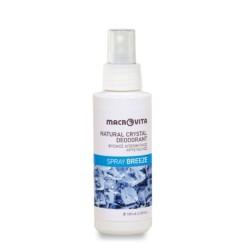 Φυσικός Αποσμητικός Κρύσταλλος Spray Breeze 100ml, Ελληνικός, Macrovita