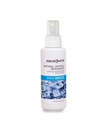 Φυσικός Αποσμητικός Κρύσταλλος Spray Breeze 100ml Macrovita