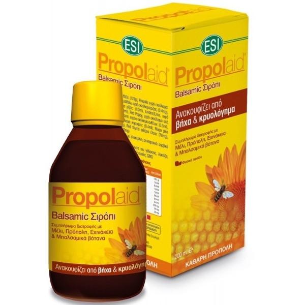 Σιρόπι PropolAid Balsamico για Βήχα & Κρυολόγημα 200ml Esi