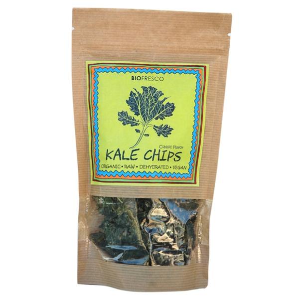 Τσιπς Kale Βιολογικά 30γρ Βιοφρέσκο