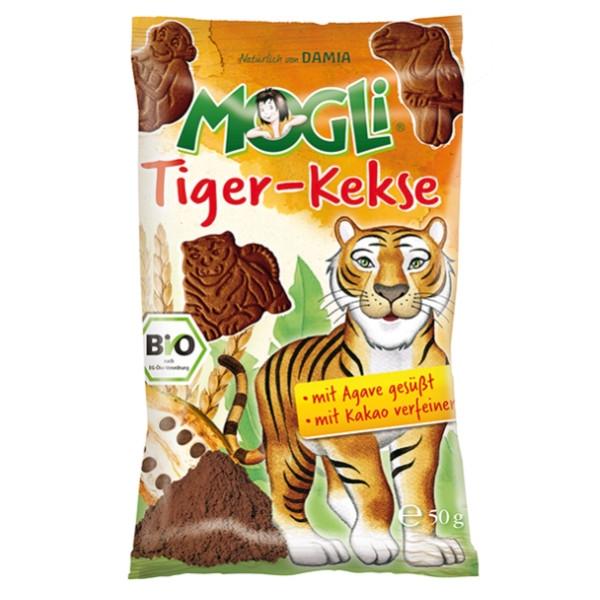 """Μπισκότα """"Τίγρης"""" με Κακάο Χωρίς Ζάχαρη 50γρ Βιολογικά Mogli"""