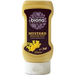 Βιολογική Μουστάρδα Μέτρια Bio 320ml, Biona